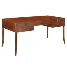 Bunny Williams Home Tambour Desk. Found at Layla Grayce.
