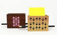 "Half and a Third ""Small Desk Caddy"" 