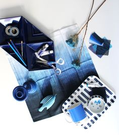 COLOR INSPIRATION(2014 FW COLORS)  1.Royal Blue #fermliving #artek #lovi #areaware #fiskars #pantone #luciekaas #namib #rooming