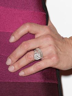Brooke Shields Engagement Ring Size #ring #engagement #bling