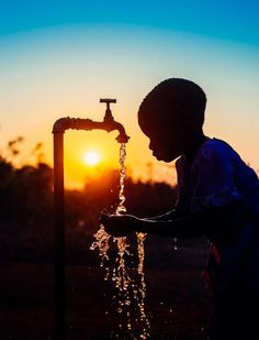 Usually you go on assignment looking for imgaes that tell a story.  But sometimes you already have an image in your mind.  After much searching, Jon was able to find the perfect spot to capture the story about water.   (Photo:  2014 Jon Warren/World Vision)