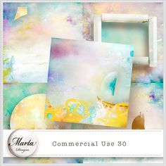 Commerciall Use 30 :: ALL NEW :: Memory Scraps
