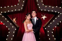 Blaine & Rachel.