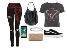 """""""Untitled #216"""" by marvel1 on Polyvore featuring Topshop, Faith Connexion, Vans, Apple, Accessorize and Balenciaga"""