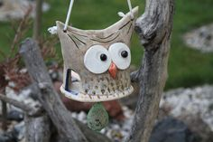 Clay Classes, Air Dry Clay, Clay Projects, Ceramic Pottery, Bird Feeders, Wedding Decorations, Birds, Outdoor Decor, Crafts