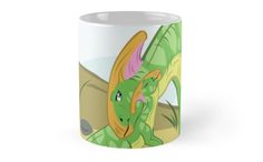Parasaurolophus Mom and Baby Coffee Mug #dinosaurs #parasaurolophus #mothersday #mom #jurassic