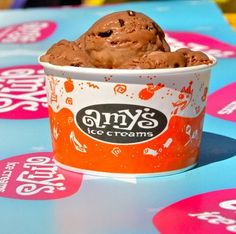 Amy's Ice Cream - Austin, TX; this place is dangerously delicious! Choc with nutter butter cookies-oh my!