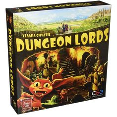 Dungeon Lords My Rating: 67/100 BGG Ranking: 136