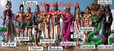Have a cultural & historical look at ancient legends, myths and stories to explore facts bout gods & goddesses of African region are associated with creation, nature, beauty, love, death, war, and destruction.