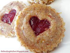 The Healing Kitchen: Raw Vegan Valentine Cookies