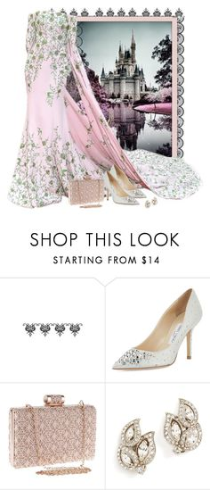 Princess and her castle by fashionrushs on Polyvore featuring Jimmy Choo, WithChic, Ben-Amun and Ralph & Russo