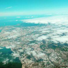 Sobre Cascais rumo à Madeira Cas, Airplane View, Clouds, Instagram Posts, Outdoor, Lisbon, Madeira, The Great Outdoors, Outdoors