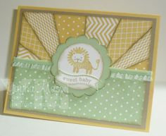 DTGD13 Baby Lion Card