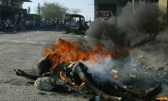 Sharia Law - Nigerian Thief Burned Alive