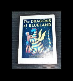 "Vintage Children's Book ""The Dragons Of BlueLand"" Children's Book Dragons Fantasy Fun Reading by SheCollectsICreate on Etsy"