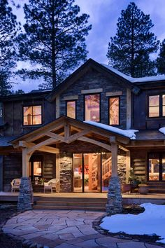 back porch ... I would love a walkway to the fire pit area.
