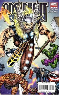 Onslaught Reborn # 2 by Rob Liefeld