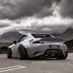Nasty Wide body Mazda MX-5 #Miata #jonsibal