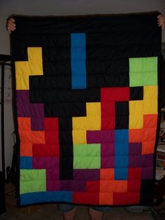Awesome quilt...but I'm thinking shower curtain for the new apartment this summer.