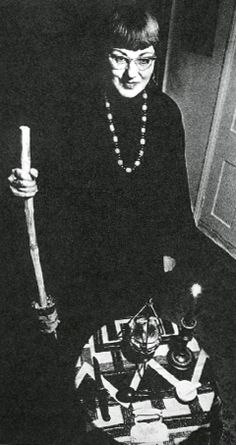 Doreen Valiente, the Mother of modern Witchcraft.