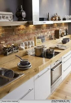Probably this kitchen wouldn't meet hygen standarts in Sweden and ı wouldn't care anyway to have it