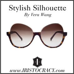 A super chic and sophisticated pair of sunglasses with a playful edge, the Sappho's one of a kind shape is a perfect meld of retro and modern for those who appr. Sensitive Eyes, Latest Fashion Design, Vera Wang, Diva, Silhouette, Sunglasses, Stylish, Outfit, Polyvore