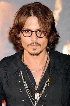 Johnny Depp con un modelo similar a nuestro Torino.