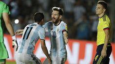 Argentina salvou-se contra a Colombia em jogo com show de Messi https://angorussia.com/desporto/argentina-salvou-colombia-jogo-show-messi/