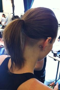 Undercut at the back
