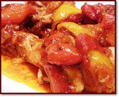 Ricette  >  Abruzzo  >  Secondi: Pollo all'abruzzese