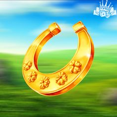 Horseshoe Art, Slot Online, Casino Games, Slot Machine, Irish, Icons, Characters, Symbols, Website