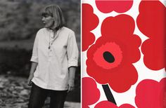 Style Icon:  Maija Isola. Principal textile designer for Marimekko, responsible for Unikko print.