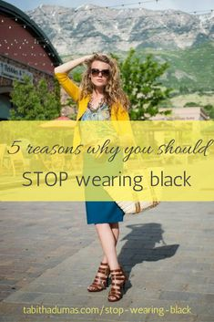 b813fda095a8 5 reasons why you should stop wearing black - Tabitha Dumas Business  Photos