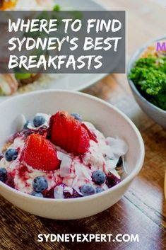 We asked a bunch of Sydney locals where to find the best breakfasts in the city and here is their list. #Sydney #Australia