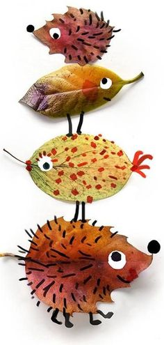 Thanksgiving & Autumn Art for Kids-Herfst / autumn Toddler Crafts, Diy And Crafts, Crafts For Kids, Arts And Crafts, Paper Crafts, Autumn Crafts, Nature Crafts, Christmas Crafts, Diy Nature