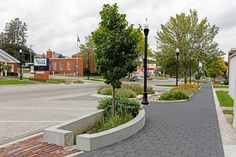 Unilock - Main Street West Union with Eco-Priora and Eco-Optiloc Paver in Iowa