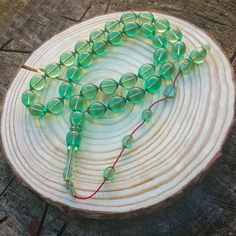 XLCollector's Luxury Green Catalin Tasbih Beads Koleksiyoner Usta Katalin Tesbih Jet Stone, Ramadan Gifts, Beads Pictures, Islamic Gifts, Prayer Beads, How To Make Beads, Live For Yourself, Green Colors, Gifts For Him