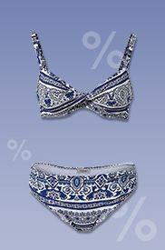 Sichert Euch mit dem Code 62039 tolle Schnäppchen im #Bikini #Sale!