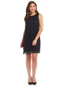 Dresses, Add a little Jackie Onassis style glamour to your wardrobe with this chic shift dress. Women's Fashion Dresses, Dress For You, Glamour, Dress Black, Womens Fashion, Floral, Closure, 3d, Detail