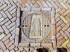 Foto - Google Foto's putdeksel Oldehove grote kerkstraat