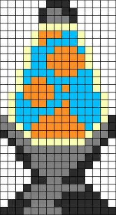 Lava Lamp Perler Perler Bead Pattern / Bead Sprite