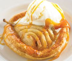 Recipes+ shows you how to make this toffee pear galettes recipe. Cake Recipes, Dessert Recipes, Desserts, Dessert Sauces, Food Shows, Toffee, Tray Bakes, Family Meals, Yummy Treats