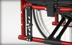 Ki Mobility Catalyst 5Vx- Reimbursement for center of gravity (CG) can get complicated. The Catalyst 5Vx makes it a little easier. The VX has the performance you have come to expect from a Catalyst, with a little bit less adjustment of the axle plate and few less options.  http://www.kimobility.com/Product.action?productName=Catalyst+5Vx