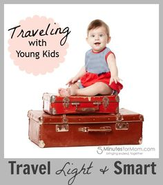 Have you traveled with young kids? Lisa is an expert at it! She shares her tips here...