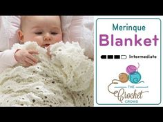 How to Crochet A Baby Blanket: Heirloom Baby Afghan - YouTube