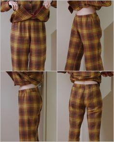 Patron et instructions pantalon de pyjama