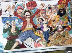 One Piece: Eiichiro Oda festeggia i 20 anni del manga con alcuni disegni