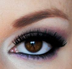Romantic Pink and Gray Smokey Eye tutorial!!!