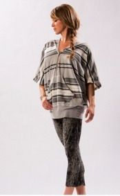 Loving the new, super, easy, and casual hooded serape style pullover by Hard Tail.  This is a perfect fall piece to transition into winter.  Wear it with shorts during long summer nights or with leggings and boots after workout or for a stylish night out.