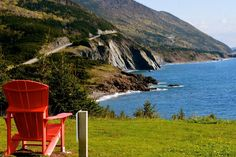 Cape Breton Highlands National Park - Nova Scotia Places To Travel, Places To See, Cabot Trail, Parks Canada, Cape Breton, Happy Trails, Fishing Villages, Sandy Beaches, Canada Travel